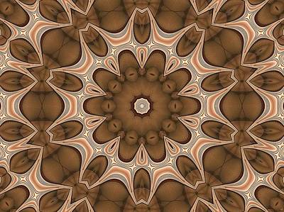 Digital Art - Kaleidoscope 124 by Ron Bissett