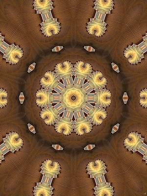 Digital Art - Kaleidoscope 125 by Ron Bissett