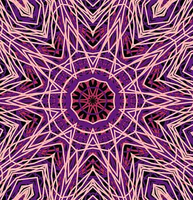 Kaleidoscope 147 Art Print