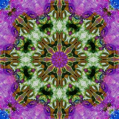 Digital Art - Kaleidoscope 2 by Lori Kingston