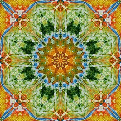 Digital Art - Kaleidoscope 3 by Lori Kingston