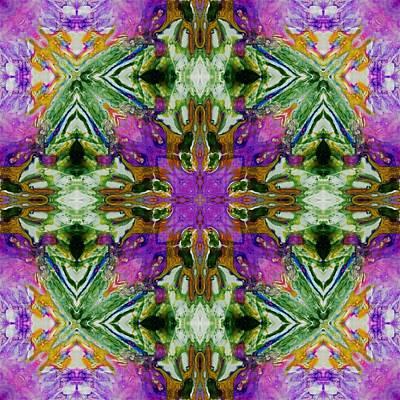 Digital Art - Kaleidoscope 5 by Lori Kingston