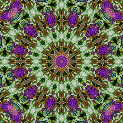 Digital Art - Kaleidoscope 6 by Lori Kingston