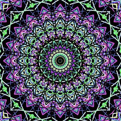 Digital Art - Kaleidoscope 6627 by Kristalin Davis
