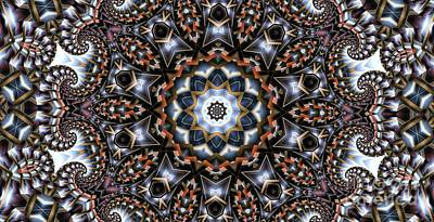 Digital Art - Kaleidoscope 99 by Ron Bissett