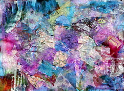 Pearlescent Mixed Media - Kaleidoscope by Don  Wright