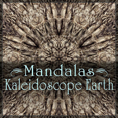 Digital Art - Kaleidoscope Earth Mandalas by Becky Titus