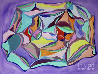 Fusion Drawing - Kaleidoscope by Elena Fattakova