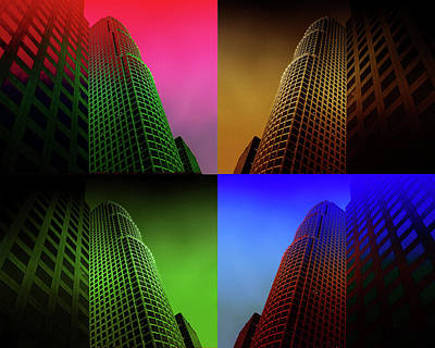 Photograph - Kaleidoscope High Rise by Joseph Hollingsworth