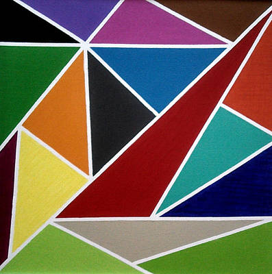 Painting - kaleidoscope II by Tom Petitclerc