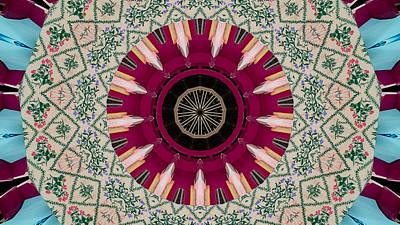 Photograph - Kaleidoscope by Jean Evans