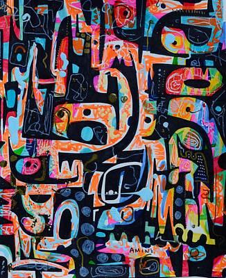 Kaleidoscope Art Print by Kourosh Amini
