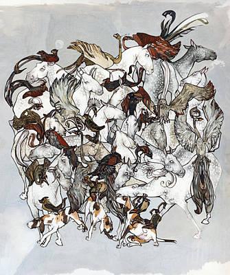 Kaleidoscope Print by Marina Kapilova