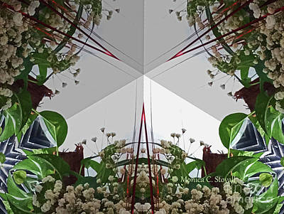 Photograph - Kaleidoscope Mirror Effect M9 by Monica C Stovall