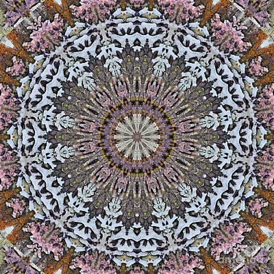 Surreal Digital Art Digital Art - Kaleidoscope O Eighteen by Paul Gillard
