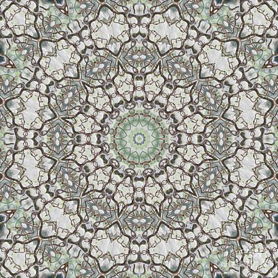 Surreal Digital Art Digital Art - Kaleidoscope O Seventy by Paul Gillard