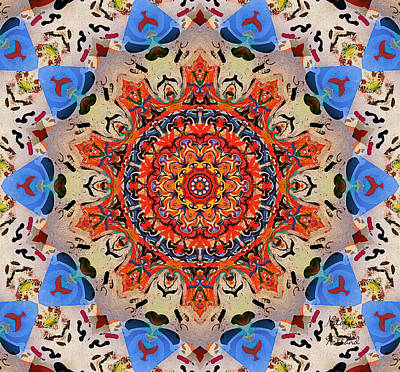 Painting - Kaleidoscope Pattern by Natalie Holland