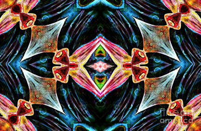 Mixed Media - Kaleidoscope Vision by Jolanta Anna Karolska