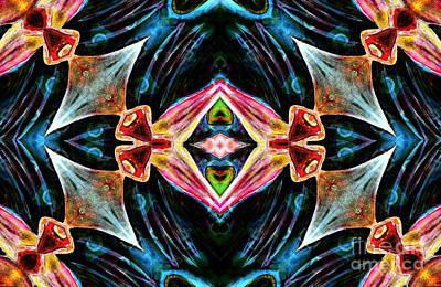 Brain Mixed Media - Kaleidoscope Vision by Jolanta Anna Karolska