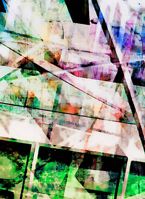 Abstract Digital Art Photograph - Kaleidoscope Vision by Tom Gowanlock