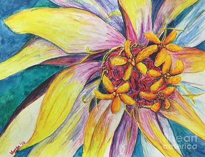 Painting - Kaleidoscope  by Vonda Lawson-Rosa