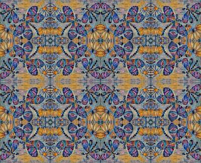 Digital Art - Kaleidoscope Wallpaper 10 by Megan Walsh