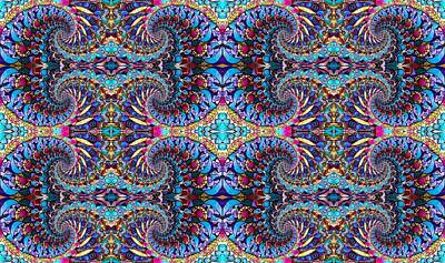 Digital Art - Kaleidoscope Wallpaper 11 by Megan Walsh