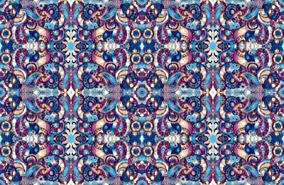 Digital Art - Kaleidoscope Wallpaper 2 by Megan Walsh