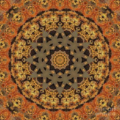 Mind Bending Digital Art - Kaleidoscope Zero Thirty Four by Paul Gillard