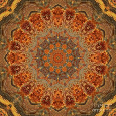 Mind Bending Photograph - Kaleidoscope Zero Thirty-three by Paul Gillard