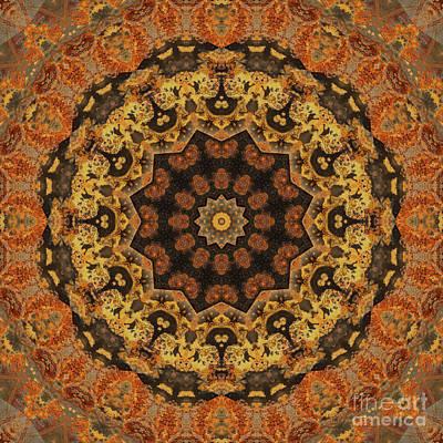 Mind Bending Digital Art - Kaleidoscope Zero Thirty Two by Paul Gillard