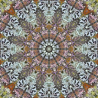 Mind Bending Digital Art - Kaleidoscope Zero Twenty Eight by Paul Gillard