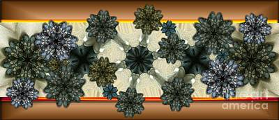 Kaleidoscopeflowers Art Print