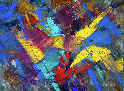 Painting - Kaleidoscopic by Dick Bourgault