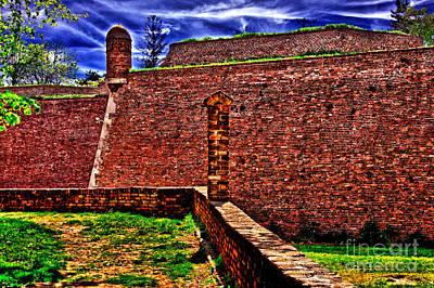 Kalemegdan Fortress Belgrade Art Print