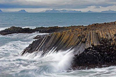 Photograph - Kalfshamarsvik Cove by Arterra Picture Library