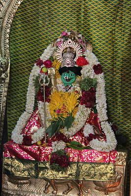 Hindu Goddess Photograph - Kali, Devi Temple, Kodaikanal by Jennifer Mazzucco