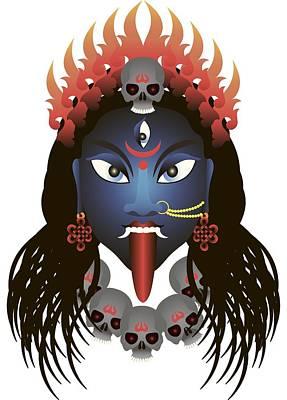 Kali Digital Art - Kali by Dmitriy Slobodsky