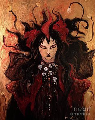 Kali Durga Art Print