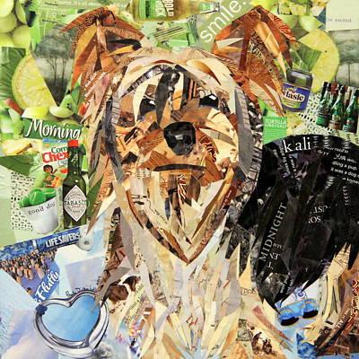 Puppy Drawing - Kali by Paula Dickerhoff