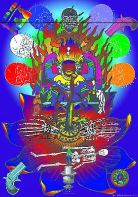 Time-honored Digital Art - Kali Yuga by Eric Edelman