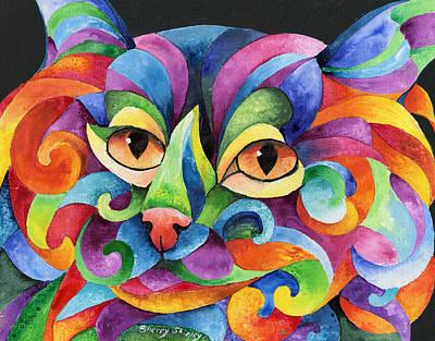 Kalidocat Art Print by Sherry Shipley