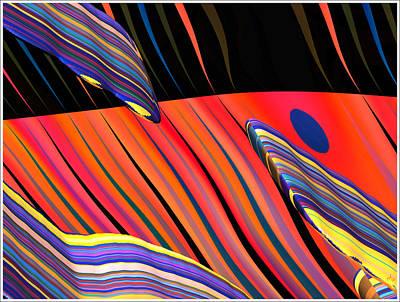 kali.fa-Papillon - Callg. 10z11m9 Art Print by Terry Anderson