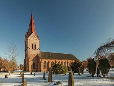 Photograph - Kallna Church Sweden by Sophie McAulay
