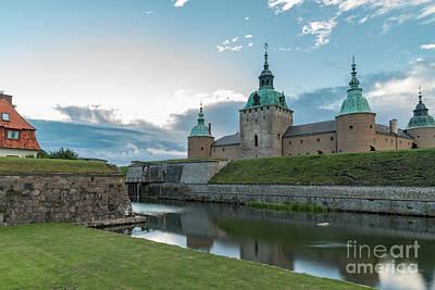 Photograph - Kalmar Castle In Sweden by Antony McAulay