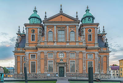 Photograph - Kalmar Cathedral In Sweden by Antony McAulay