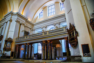 Photograph - Kalmar Choir Loft by Rick Bragan