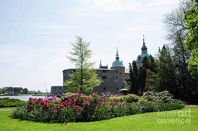 Photograph - Kalmar Medieval Castle By Summer by Kennerth and Birgitta Kullman