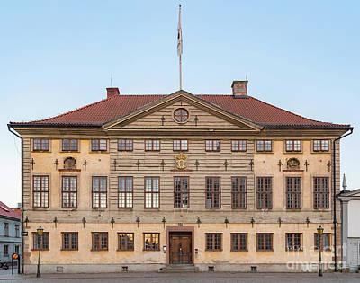 Photograph - Kalmar Radhus Building by Antony McAulay