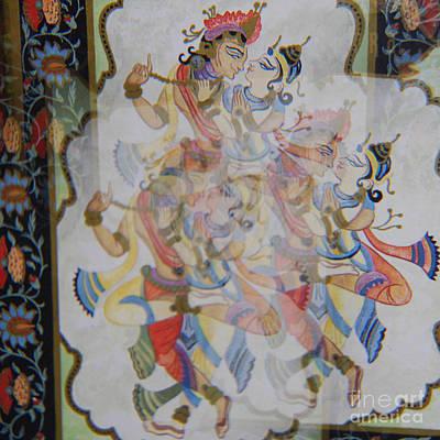 Kama Sutra Thrice Art Print by Sean-Michael Gettys
